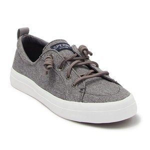 SPERRY GREY CREST VIBE SOFT SPARKLE SHOES
